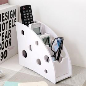 Kotak Barang DIY Multifungsi Remot Alat Tulis Kantor - White