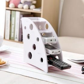 Kotak Barang DIY Multifungsi Remot Alat Tulis Kantor - White - 2