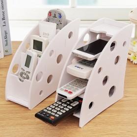 Kotak Barang DIY Multifungsi Remot Alat Tulis Kantor - White - 3