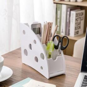 Kotak Barang DIY Multifungsi Remot Alat Tulis Kantor - White - 4