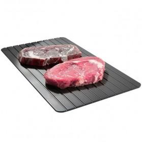 Meijuner Talenan Defrosting Daging Beku Multifungsi Meat Fast Thawing Board Size M - H0KA-748 - Black - 6
