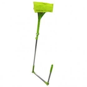 Wiper Telescopic Pembersih Kaca Gedung Rumah Cleaner Brush - Green - 2