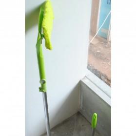 Wiper Telescopic Pembersih Kaca Gedung Rumah Cleaner Brush - Green - 5