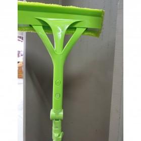 Wiper Telescopic Pembersih Kaca Gedung Rumah Cleaner Brush - Green - 7