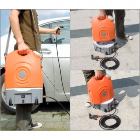 Mesin Steam Jet Cuci Motor Mobil Portable 60W 130PSI - GFS-C1 - Orange - 2