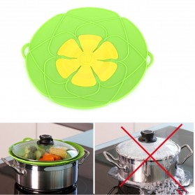 Penutup Panci Spill Stopper Over Boiling 26 cm - Green