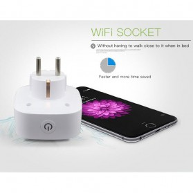 Stop Kontak WiFi Socket Smart Plug - White - 6