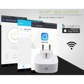 Stop Kontak WiFi Socket Smart Plug - White - 7
