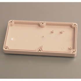 Wall Mounting Outdoor Electrical Enclosure Box ABS Waterproof 158 x 90 MM - White - 2