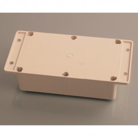 Wall Mounting Outdoor Electrical Enclosure Box ABS Waterproof 198 x 93 MM - White - 4