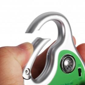 Hook Clamp Karabiner Anti Nyamuk Ultrasonic Solar Power - 4