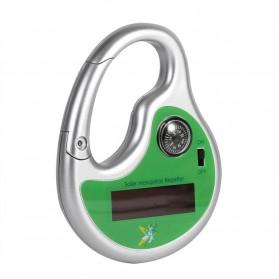 Hook Clamp Karabiner Anti Nyamuk Ultrasonic Solar Power - 7