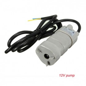 Taffware Pompa Air Aquarium Ikan Submersible Water Pump Fish Tank 12V 600L/Hour - JT-500 - White