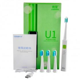 LANSUNG U1 Sikat Gigi Elektrik - Green - 1
