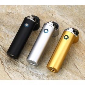 Noble Cylinder Korek Api Elektrik Pulse Plasma USB Lighter - JL108 - Black - 3