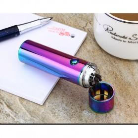 Noble Cylinder Korek Api Elektrik Pulse Plasma USB Lighter - JL108 - Black - 4