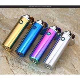 Noble Cylinder Korek Api Elektrik Pulse Plasma USB Lighter - JL108 - Black - 5