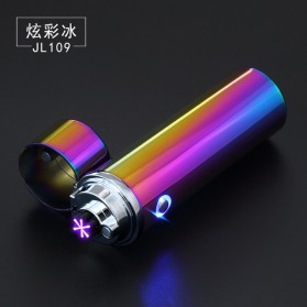 Noble Cylinder Korek Api Elektrik 6 Arc Pulse Plasma USB Lighter - JL109 - Multi-Color