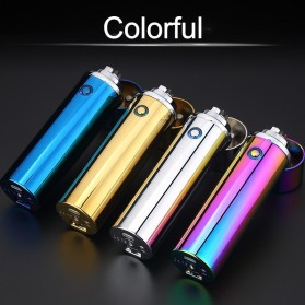 Noble Cylinder Korek Api Elektrik 6 Arc Pulse Plasma USB Lighter - JL109 - Multi-Color - 4