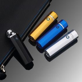 Noble Hexagon Korek Api Elektrik Pulse Plasma USB Lighter - JL117 - Black - 7