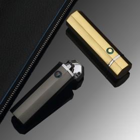 Noble Hexagon Korek Api Elektrik Pulse Plasma USB Lighter - JL117 - Black - 8