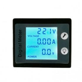 PZEM-011 4IN1 AC Voltmeter Current Power Monitor Alarm 80-260V 10A - Black