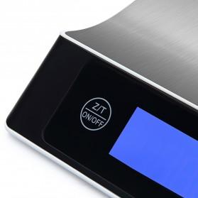 Timbangan Digital Dapur Model Aluminium 5kg 1g - Black - 3
