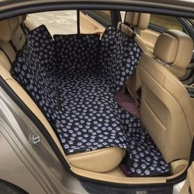 Karpet Matras Cover Alas Duduk Anjing untuk Mobil - SUV YG01 - Black - 2