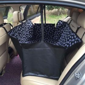 Karpet Matras Cover Alas Duduk Anjing untuk Mobil - SUV YG01 - Black - 3