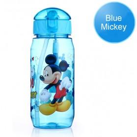 Botol Minum Lucu Gambar Kartun Disney 450ML - Blue