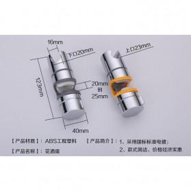 Clamp Holder Shower Mandi - SBA003A - Silver - 4