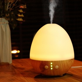 Taffware Humi Aromatherapy Air Humidifier Oil Diffuser Egg Shape 235ml - H25 - White - 1