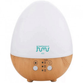 Taffware Humi Aromatherapy Air Humidifier Oil Diffuser Egg Shape 235ml - H25 - White - 2