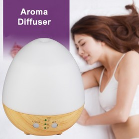Taffware Humi Aromatherapy Air Humidifier Oil Diffuser Egg Shape 235ml - H25 - White - 5