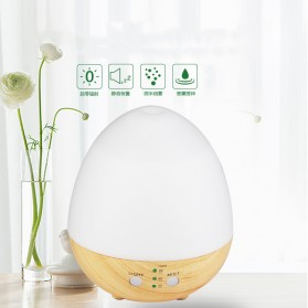 Taffware Humi Aromatherapy Air Humidifier Oil Diffuser Egg Shape 235ml - H25 - White - 6