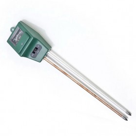 3in1 Alat Pengukur Kelembaban Tanah Soil Moist PH Detector Analyzer - Green - 5