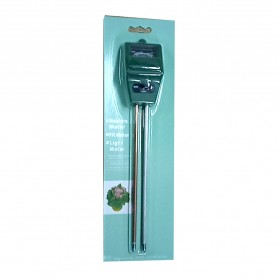 3in1 Alat Pengukur Kelembaban Tanah Soil Moist PH Detector Analyzer - Green - 7