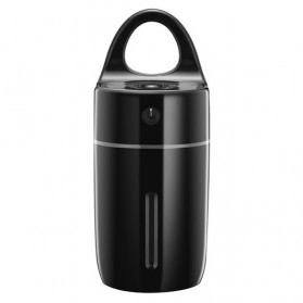 Magic Cup Car Humidifier Colorful LED 175ml - Black