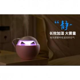 Taffware Air Humidifier Aromatherapy Oil Diffuser Night Light Elf 450ml - HUMI H009 - Pink - 10