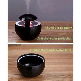 Taffware Night Light Elf Aromatherapy Air Humidifier 450ml - HUMI H009 - Black - 6