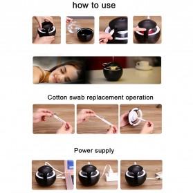 Taffware Night Light Elf Aromatherapy Air Humidifier 450ml - HUMI H009 - Black - 7