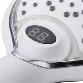Kepala Shower dengan LED Sensor Temperatur - White - 5
