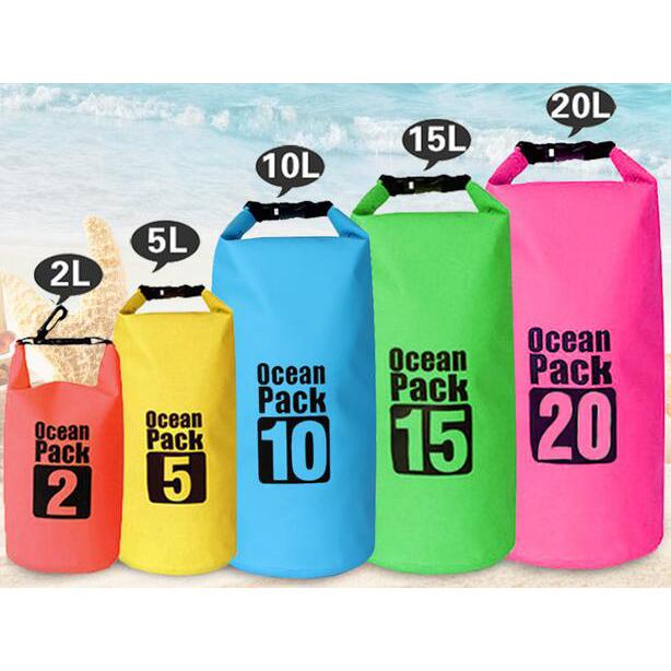 ... Outdoor Waterproof Bucket Dry Bag 5 Liter - Black - 2 ...