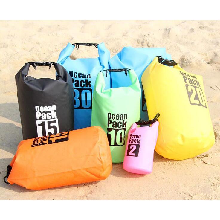 ... Outdoor Waterproof Bucket Dry Bag 5 Liter - Black - 3 ...