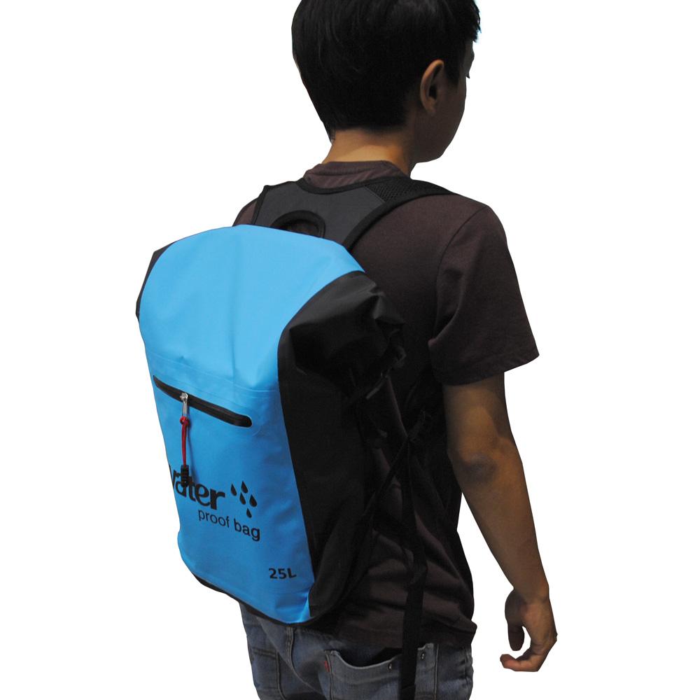 07290cb938b0 ... Tas Ransel Bucket Dry Bag Waterproof 25L - OB-106 - Blue - 6 ...