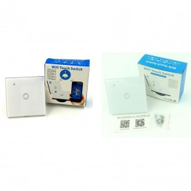 Panel Lampu Touch WiFi Smart Home Voice Control - White - 6