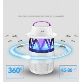 Ponchao Pembasmi Nyamuk UV LED 360 - PC-007 - White - 2