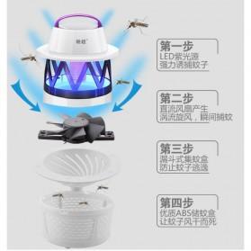 Ponchao Pembasmi Nyamuk UV LED 360 - PC-007 - White - 6
