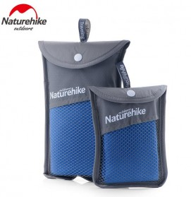 Naturehike Handuk QuickDry Size 80 x 40cm - NH15A003-P - Blue - 9