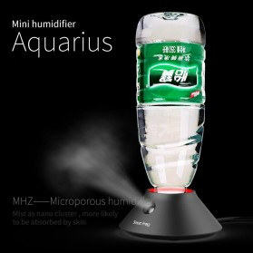 Smart Frog Humidifier dengan Slot Botol Mineral - Aquarius 1 - Black
